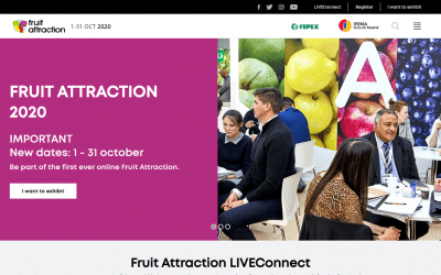 LUSOMORANGO PARTICIPA NA FRUIT ATTRACTION MADRID,  EM FORMATO 100% DIGITAL